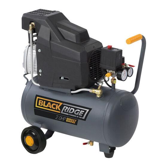 Blackridge Air Compressor Direct Drive 2.0HP 105LPM, , scaau_hi-res