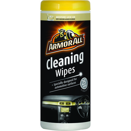 Armor All Cleaning Wipes - 25 Pack, , scaau_hi-res