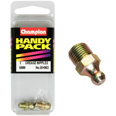 Champion Grease Nipples - 6mm, BH063, Handy Pack, , scaau_hi-res