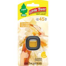 Little Trees Vent Air Freshener - Golden Vanilla, 3mL, , scaau_hi-res