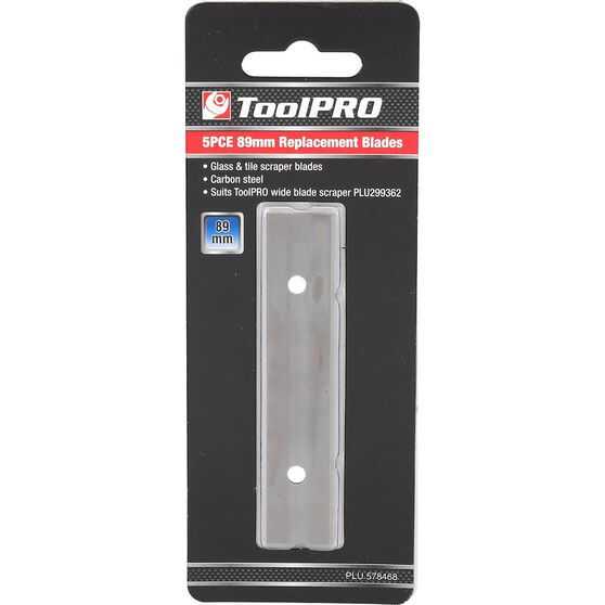 ToolPRO Replacement Blade Set - 89mm, 5 Pieces, , scaau_hi-res