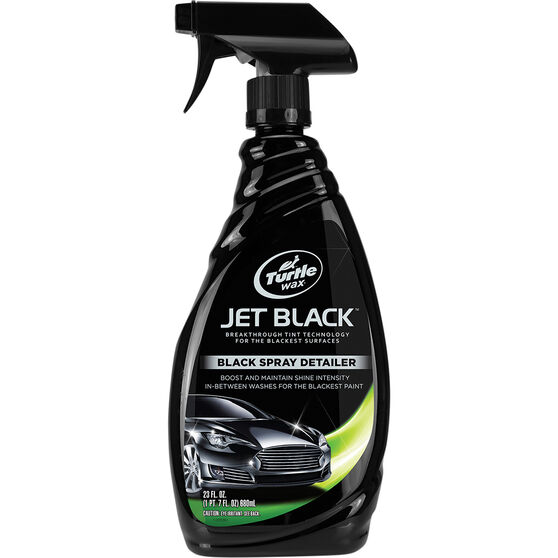 Turtle Wax Black Spray Detailer - 680mL, , scaau_hi-res