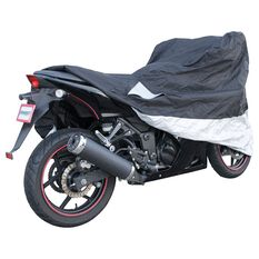 CoverALL Motorcycle Cover - Gold Protection, Suits Up To 500cc, Small, , scaau_hi-res