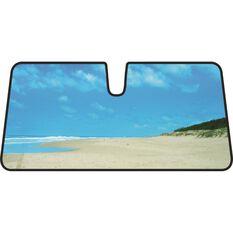 Beach Sunshade - Blue, Accordion, Front, , scaau_hi-res