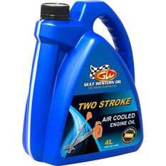 Gulf Western Air Cooled Two Stroke Oil - 4 Litre, , scaau_hi-res
