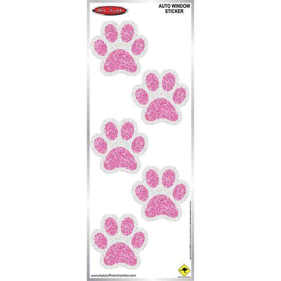 Sticker Piink Paw Prints Medium SH1201M, , scaau_hi-res