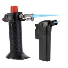 Hot Devil Butane Pocket Torch - Twin Pack, , scaau_hi-res