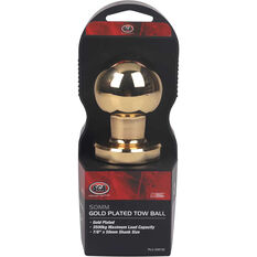 Tow ball - Gold Plated, 50mm, , scaau_hi-res