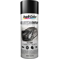 Dupli-Color Aerosol Paint Custom Wrap - Matte Carbon Black, 311g, , scaau_hi-res