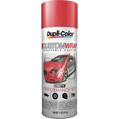 Dupli-Color Aerosol Paint Custom Wrap Performance Red 311g, , scaau_hi-res