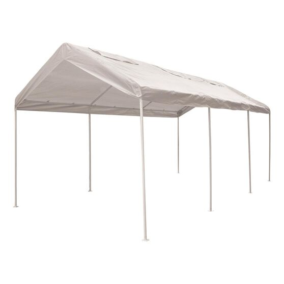 CoverALL Carport Replacement Tarp - 3 x 6m, White, , scaau_hi-res