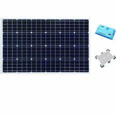 Ridge Ryder Caravan Solar Panel Kit - 110 Watt, , scaau_hi-res
