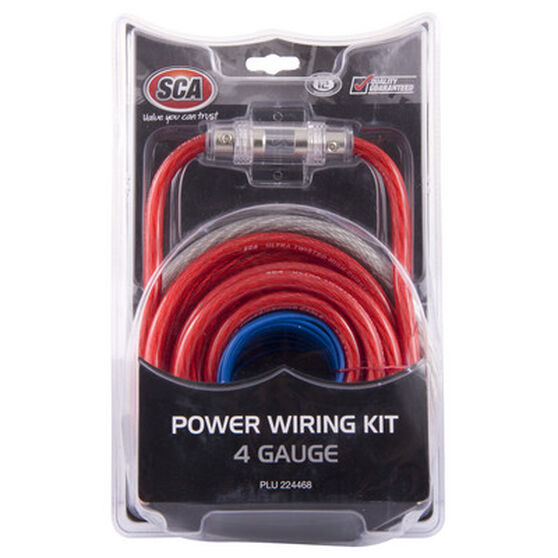 SCA Power Wiring Kit - 4G, , scaau_hi-res