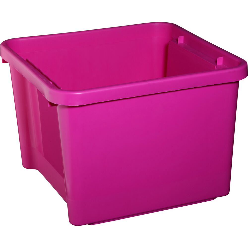 sca plastic storage bin pink 30 litre supercheap auto. Black Bedroom Furniture Sets. Home Design Ideas
