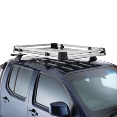 Roof Tray Voyager Pro - Medium, Heavy Duty, Alloy, , scaau_hi-res