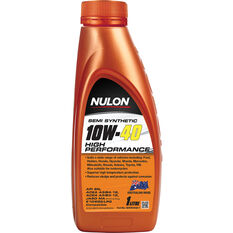 Nulon Semi Synthetic High Performance Engine Oil 10W-40 1 Litre, , scaau_hi-res