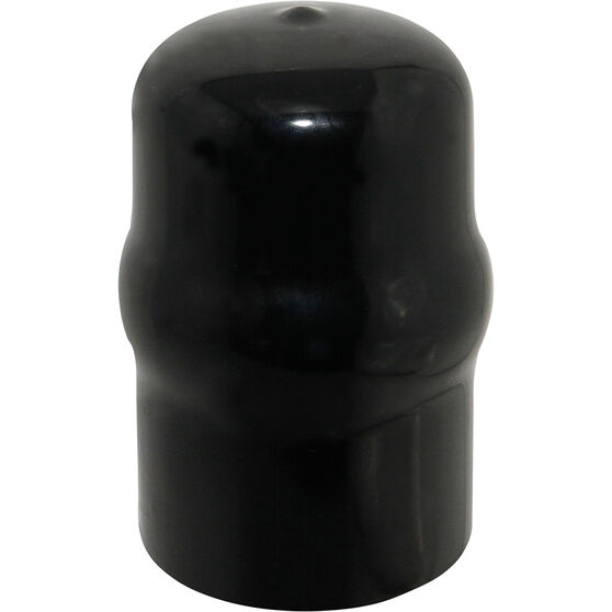SCA Tow Ball Cover - Black PVC, 50mm, , scaau_hi-res