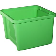SCA Plastic Storage Bin - Lime, 30 Litre, , scaau_hi-res