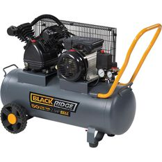 Blackridge Air Compressor Belt Drive 2.5HP 155LPM, , scaau_hi-res