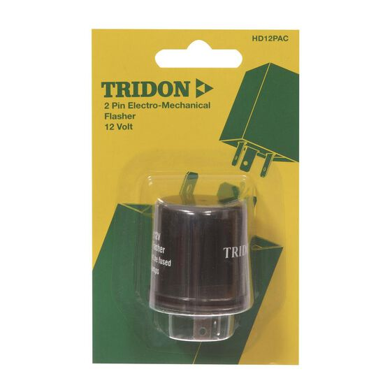 Tridon Flasher, HD12Pac - 12V, 2 Pin, , scaau_hi-res