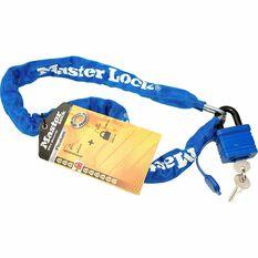 Master Lock Street Flexium Chain and Padlock - 40mm, 6mm x 90cm, , scaau_hi-res