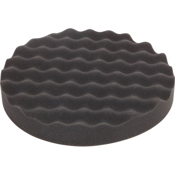 ToolPRO Wave Foam Velcro Polishing Pad - 200mm, , scaau_hi-res