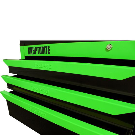 ToolPRO Neon Tool Cabinet, 6 Drawer, Top Chest - Kryptonite, 42 inch, , scaau_hi-res