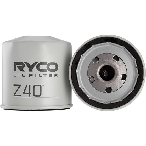 Ryco Oil Filter - Z40, , scaau_hi-res