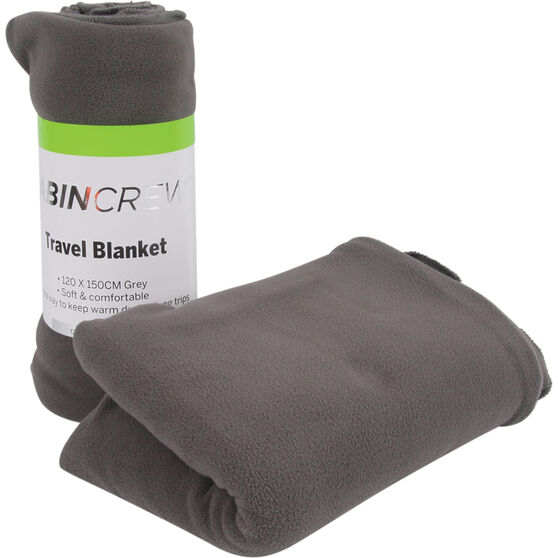 Cabin Crew Travel Blanket - Grey, , scaau_hi-res