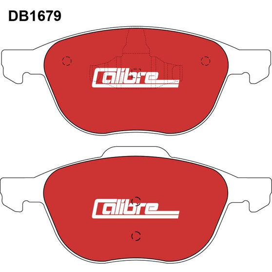 Calibre Disc Brake Pads - DB1679CAL, , scaau_hi-res