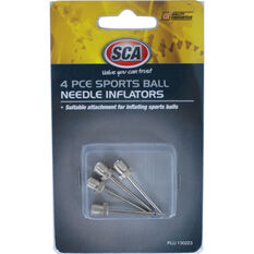 SCA Sports Ball Inflators Kit - 4 Piece, , scaau_hi-res