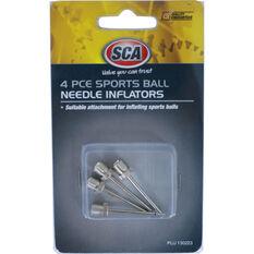 SCA Sports Ball Inflators Kit - 4 Piece, , scaau_hi-res