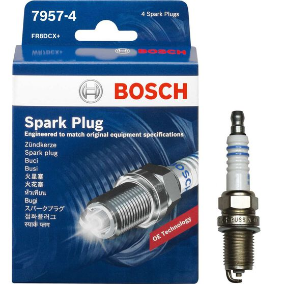 Bosch Spark Plug 7957-4 4 Pack, , scaau_hi-res