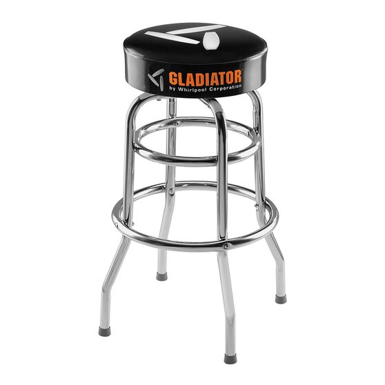 Gladiator Storage Workbench Stool 750mm High, , scaau_hi-res