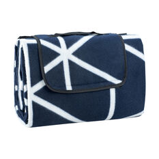SCA Picnic Rug - Navy and White, 1.5m x 2m, , scaau_hi-res