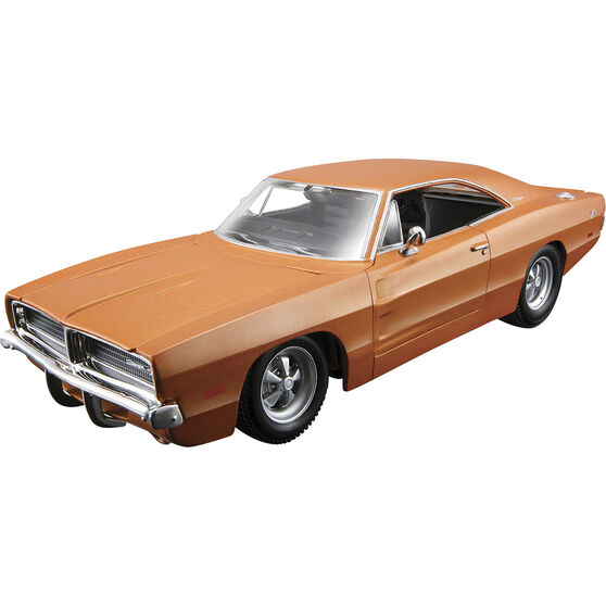 Die Cast, Assembly model; Dodge Charger - 1:24 scale model, , scaau_hi-res