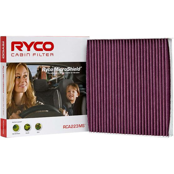 Ryco Cabin Air Filter Microshield RCA223MS, , scaau_hi-res