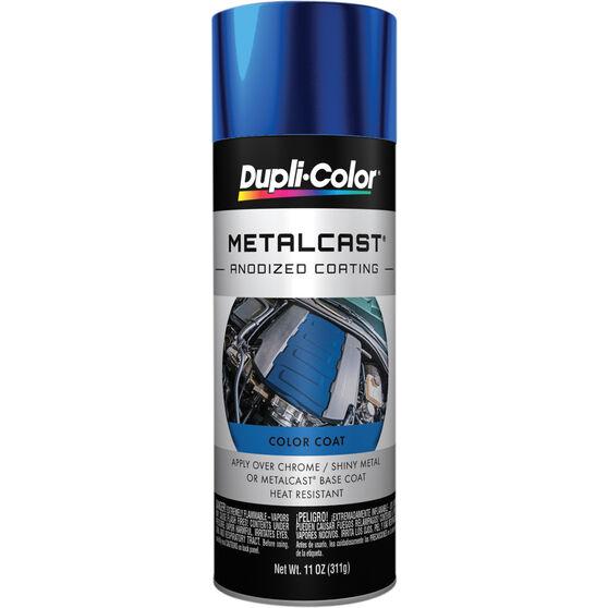 Dupli-Color Metalcast Aerosol Paint - Enamel, Blue Anodised, 311g, , scaau_hi-res