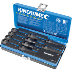 "Kincrome Impact Socket Set 1/2"" Drive Metric 10 Piece, , scaau_hi-res"