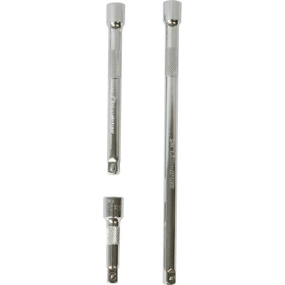 ToolPRO Extension Bar Set - 3 / 8 inch Drive, 3 Piece, , scaau_hi-res