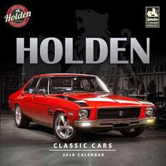 Classic Holden Square 2018 Calendar, , scaau_hi-res