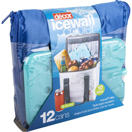 décor Ice Wall Soft Cooler 10L with Ice cell, , scaau_hi-res