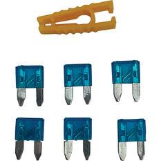 SCA Fuse Mini Blade - 15 AMP, 5pce, , scaau_hi-res