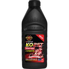 Motorcycle Oil - KO2ST Karting, 1 Litre, , scaau_hi-res