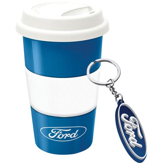 Ford Travel Mug with keyring, , scaau_hi-res