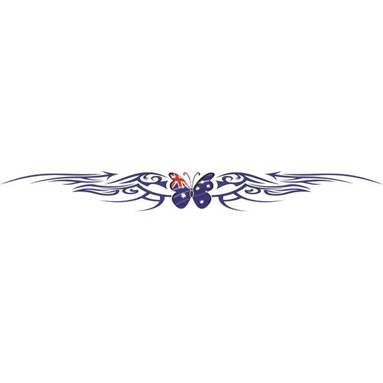 Hot Stuff Sticker - Aussie Butterfly Windscreen, Vinyl, , scaau_hi-res