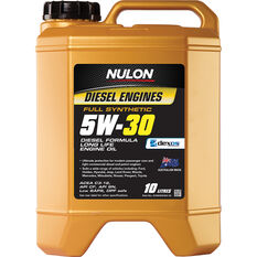 Nulon Full Synthetic Long Life Diesel Engine Oil 5W-30 10 Litre, , scaau_hi-res