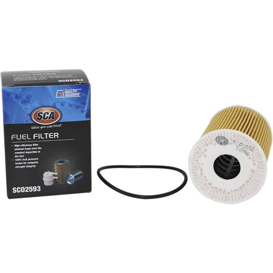 SCA Oil Filter SCO2593 (Interchangeable with R2593P), , scaau_hi-res