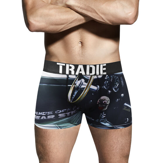 Tradie Mens Geared up Trunks Geared Up 2XL, Geared Up, scaau_hi-res