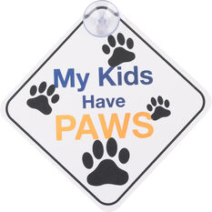 Cabin Crew Pets Window Sign - Fur Baby On Board, , scaau_hi-res